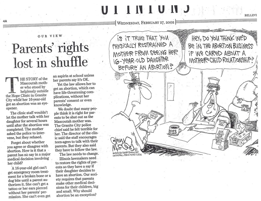 Parental Rights Vs Hope Clinic